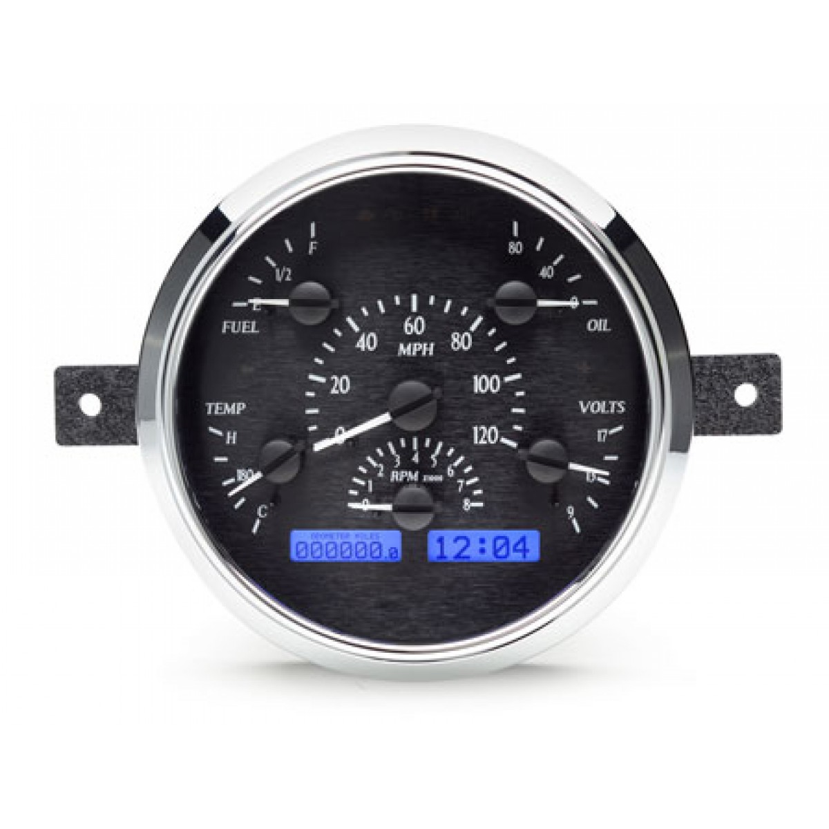 Digital Gauge Cluster : Ford vhx gauge instruments dakota digital f