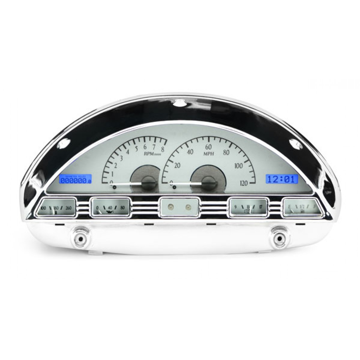 1956 ford pickup vhx gauge instruments dakota digital vhx 56f pu