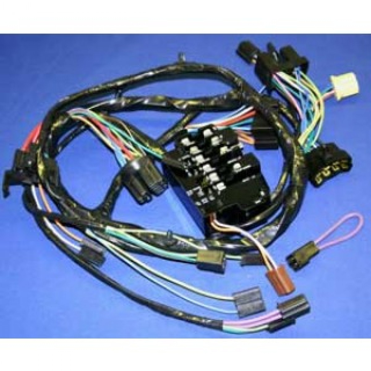 1964-1965-chevy-c10-dash-harness-04700  C Wiring Harness on rat truck, lowered 2 inch, pick up open hood, truck rally wheels,