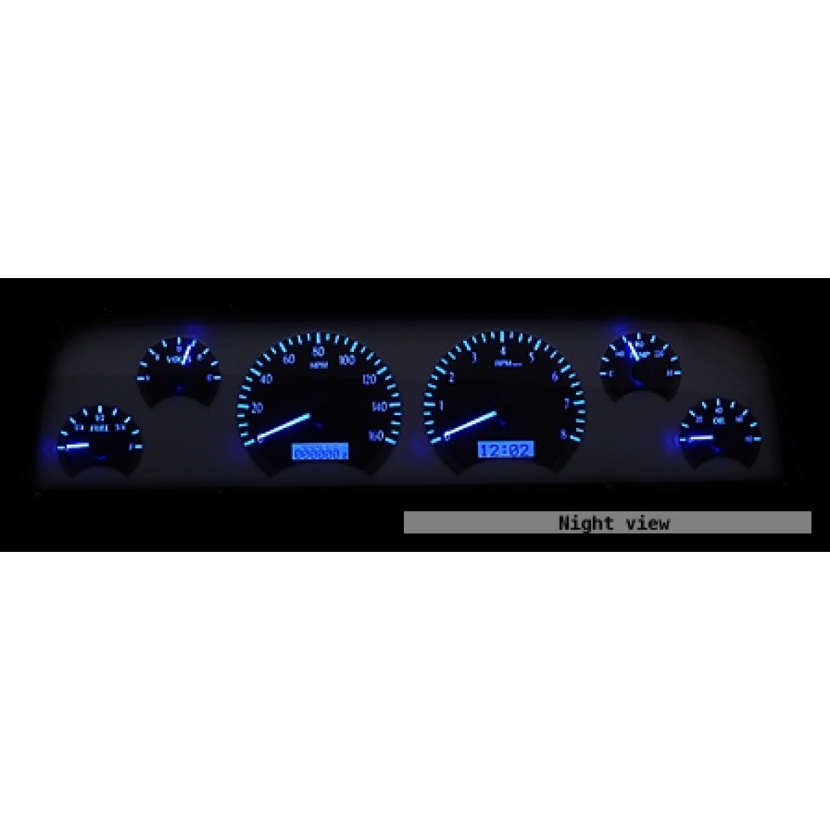 chevy c10 painless wiring harness wirdig 1964 1966 chevy c10 pickup gauge cluster digital on 1966 chevy c10