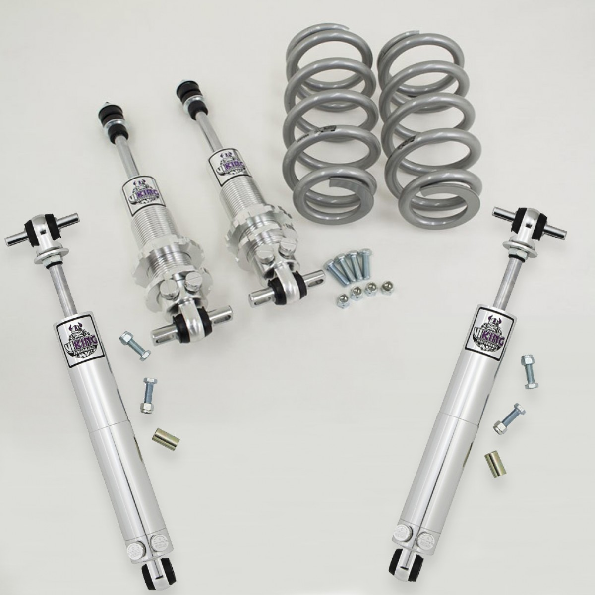 1964 1967 Chevy El Camino Front Rear Coil Over Shock Package Wiring Diagram Viking