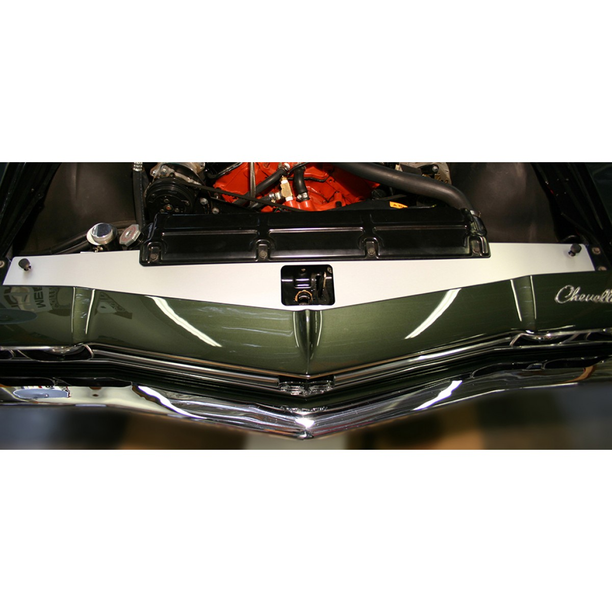 68 69 Chevelle Show Panel With No Engraving Gto Wiring Diagram 1968 1969 Radiator Support