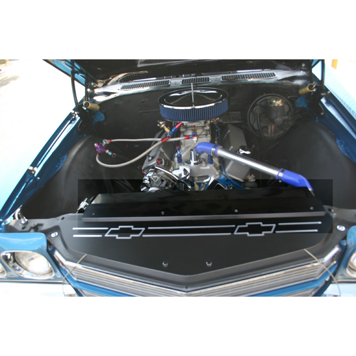 1968 1975 chevelle anodized radiator cover 3 bolt 68 72 chevelle radiator cover_1 68 chevelle radiator cover on wiring diagram for a 73 78 ford f100