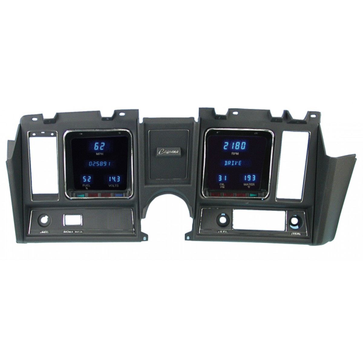 1969 Camaro Digital Instrument Cluster - Dakota Digital VFD3-69C-CAM