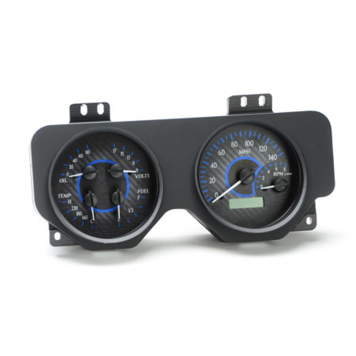 Digital Gauge Cluster : Vhx p fir pontiac firebird instruments