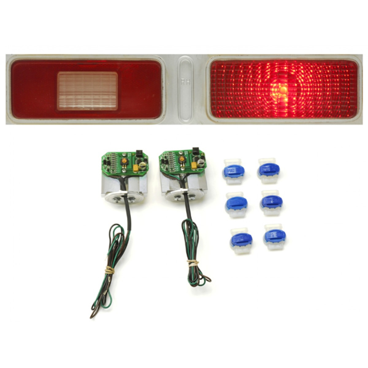 1973 1974 Chevy Nova Led Tail Lights Dakota Digital Lat