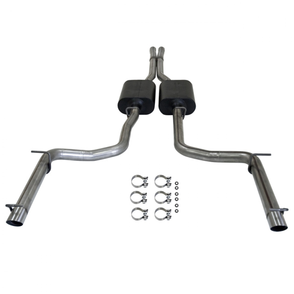 2011 2013 Dodge Charger Rt American Thunder Exhaust Chrysler 300 C Flowmaster American Thunder Exhaust Kit 817508