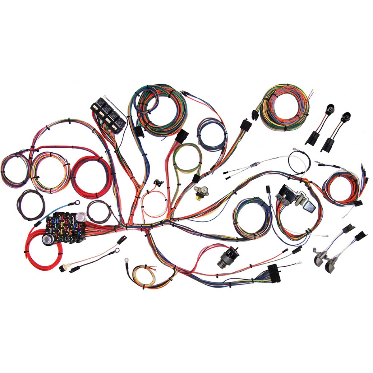 1964 1966 ford mustang wire harness complete wiring harness kit complete wiring harness kit 1964 1966 ford mustang part 510125