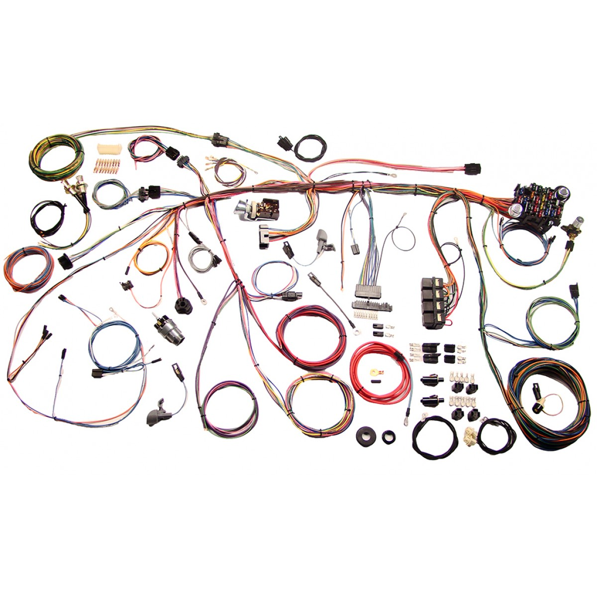 Ford Mustang Wiring Harness Books Of Diagram 86 Svo Engine 1969 Wire Complete Kit Rh Code510 Com 1965 1968