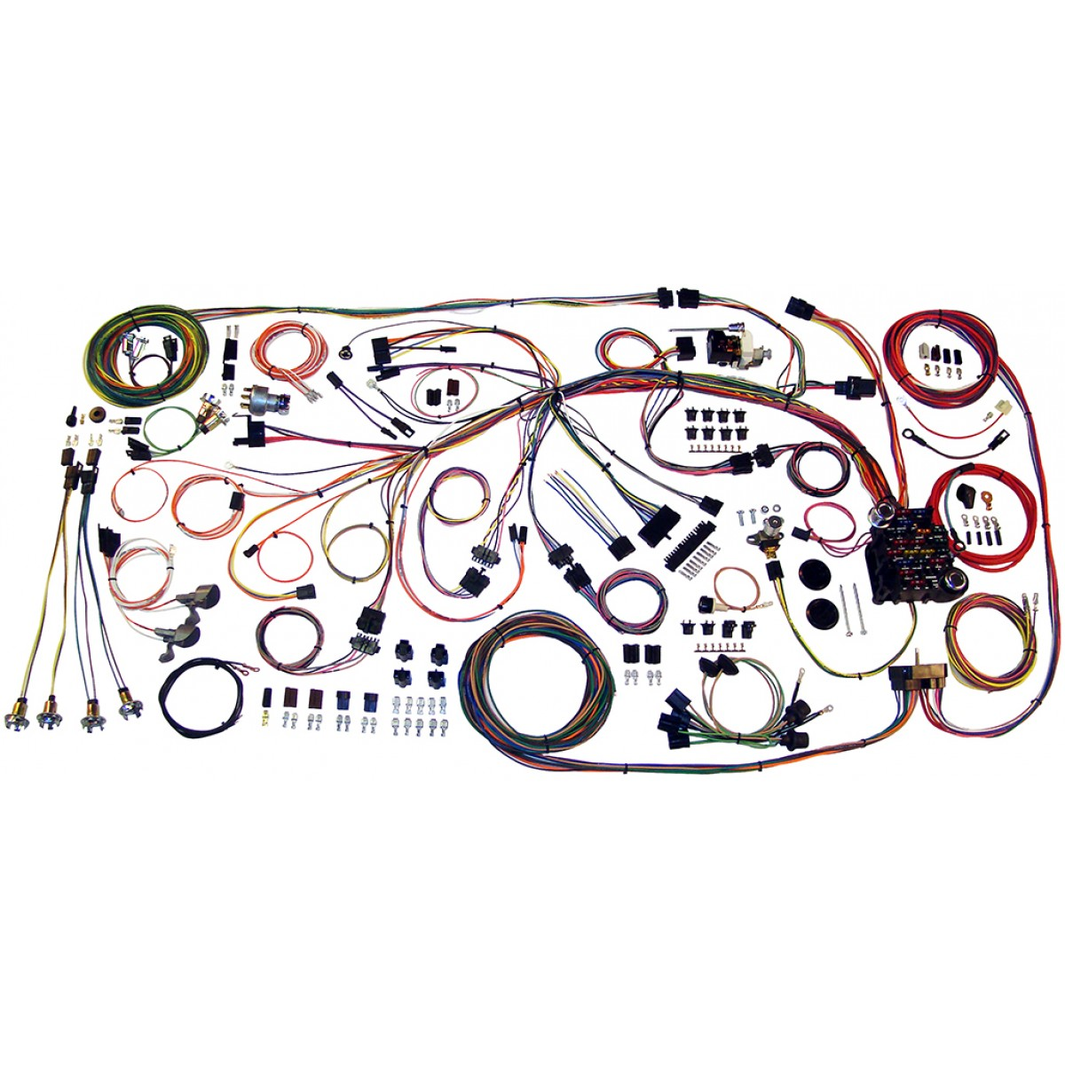 510217 impala complete wiring harness kit 1959 1960 impala part 510217 impala full wire harness 1959 1960 chevy impala wire harness complete wiring harness kit wiring harness kits at fashall.co
