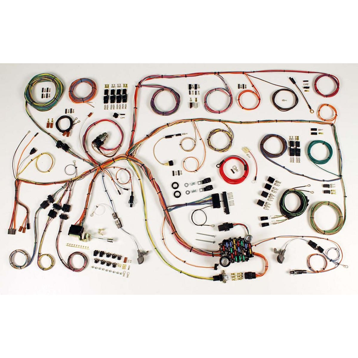 1960 1964 ford falcon complete wiring harness kit 1960 1964 ford rh code510 com 1964 ford thunderbird wiring harness Ford OEM Wiring Harness