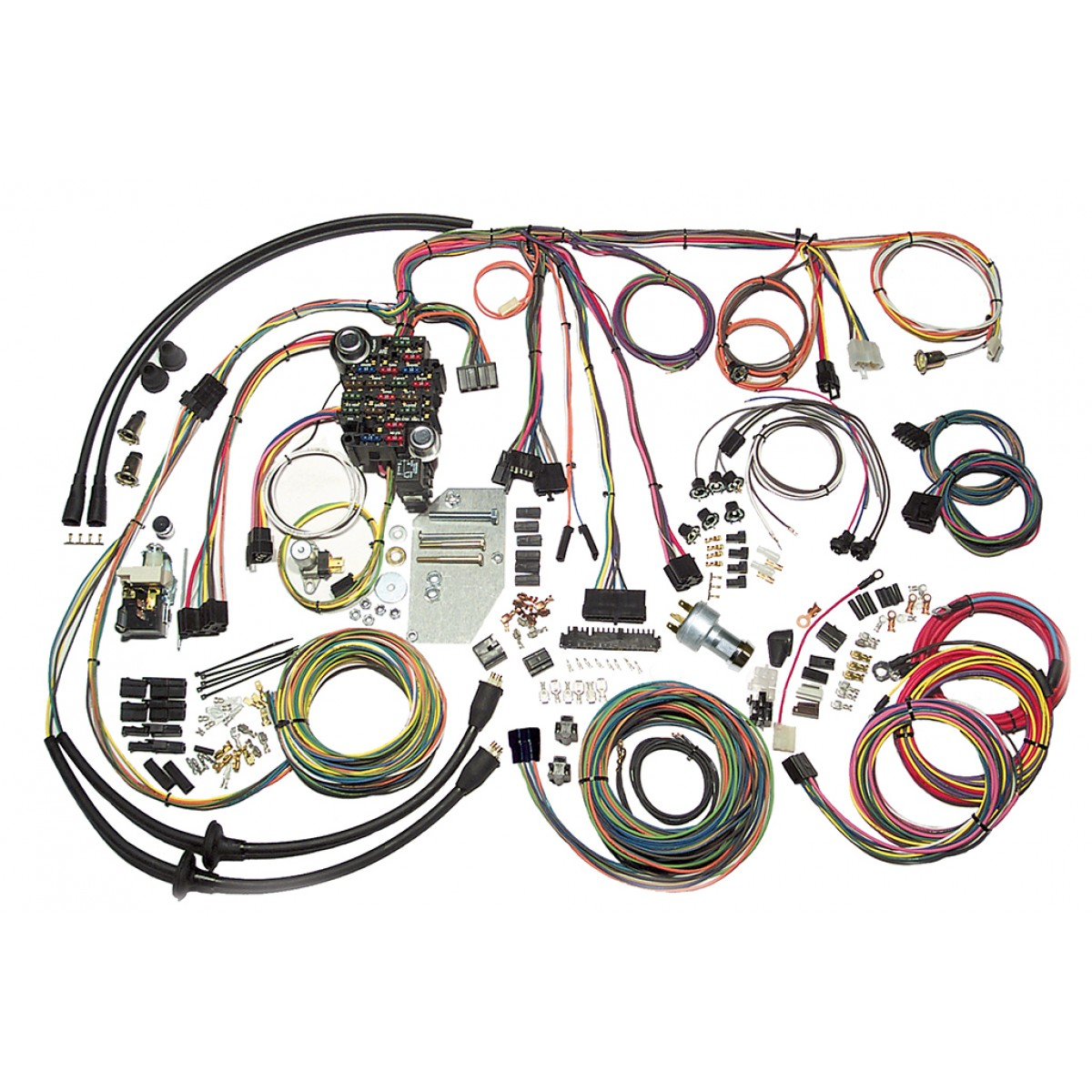 Complete Wiring Harness Kit - 1955-1956 Chevy Tri-Five Belair Part# 500423Code510