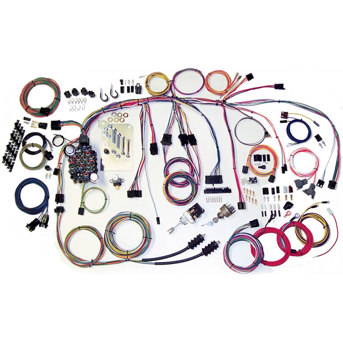 complete wiring harness kit 1960 1966 chevy truck part 500560 rh code510 com wiring harness 1950 chevy truck wiring harness 1971 chevy truck