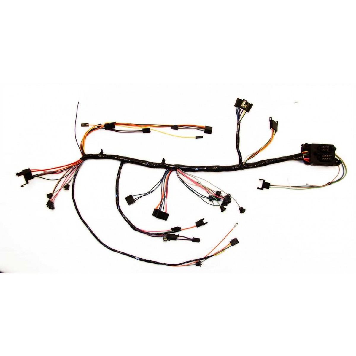 1967 chevrolet chevelle dash harness  with warning lights