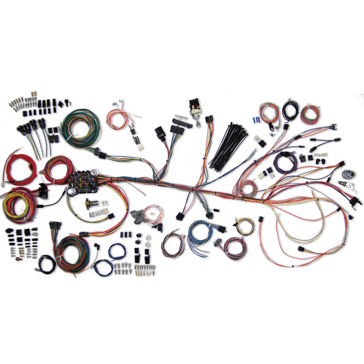 1964 1967 El Camino Wiring Harness Kit Part 1968 Camaro Stearing Column Diagram Complete 500981