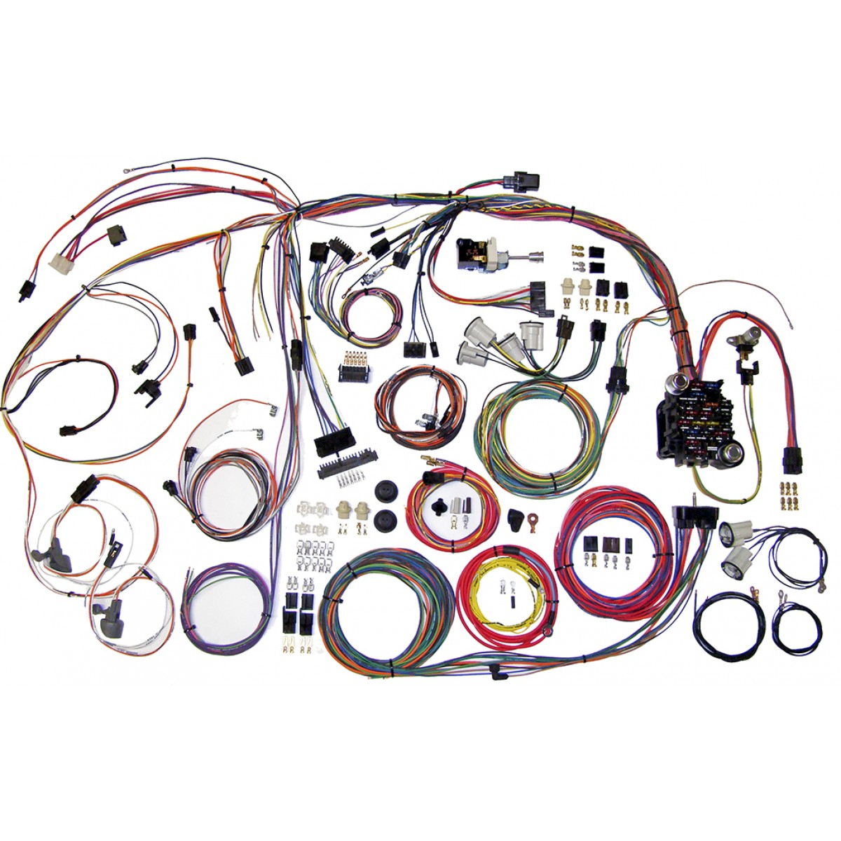 1970 1972 chevelle complete wiring harness kit 1970 1972 chevelle rh  code510 com 1970 chevelle engine
