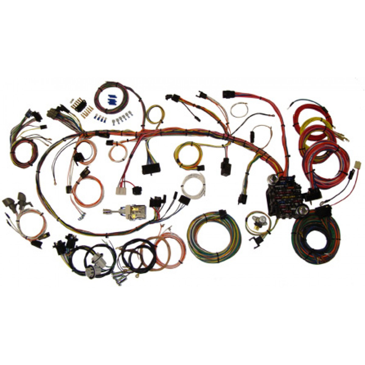 Camaro Wiring Harness Library 1987 Complete Kit 1970 1973 Part 510034
