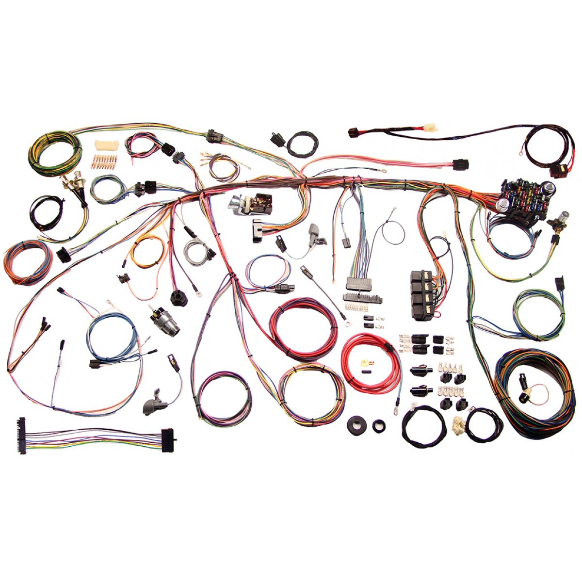 ford circle wiring wiring library 1975 ford charging system complete wiring harness kit 1970 ford mustang part 510243