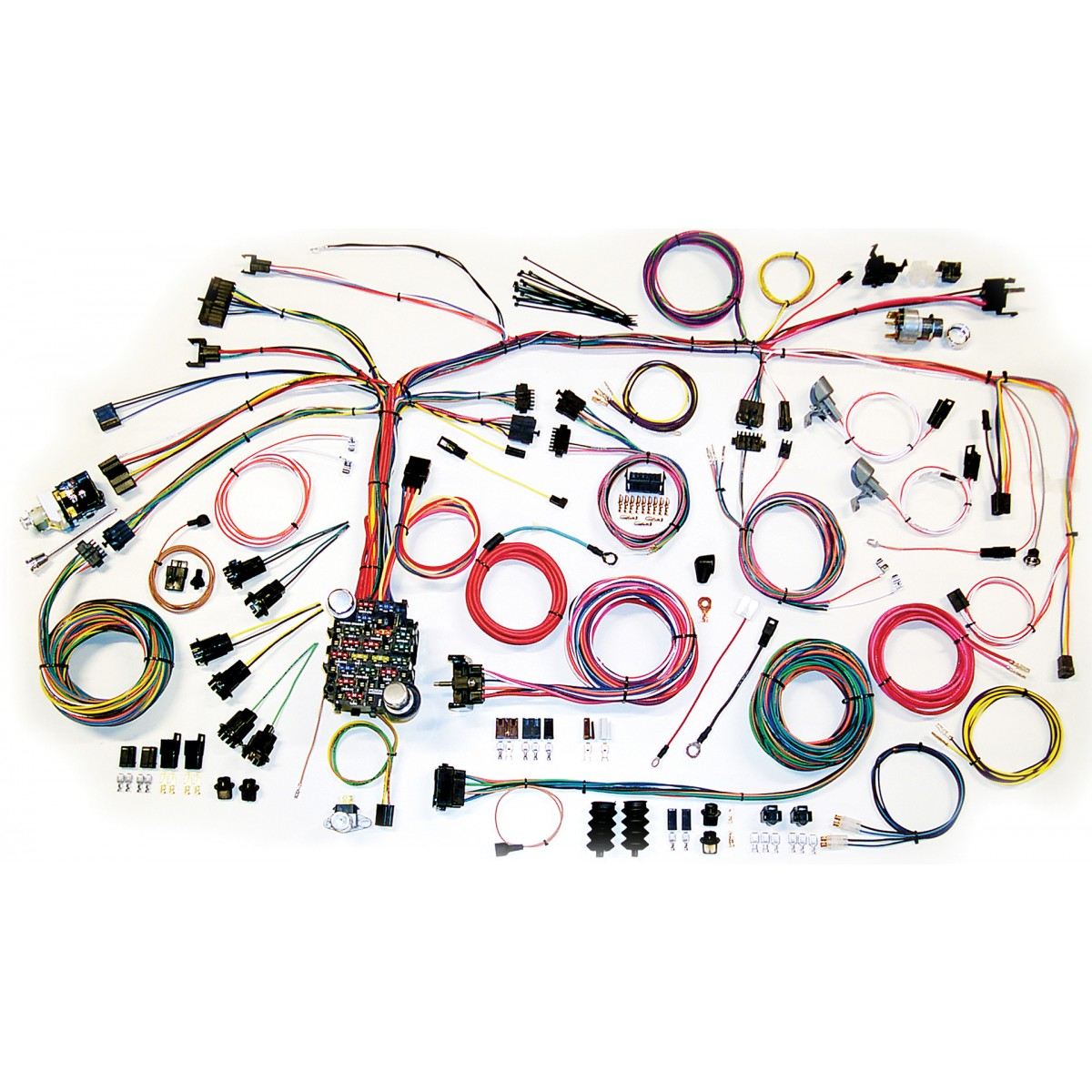 1967 1968 camaro wiring harness complete wiring harness kit 1967 rh code510 com 68 camaro painless wiring harness diagram 68 camaro engine wiring harness