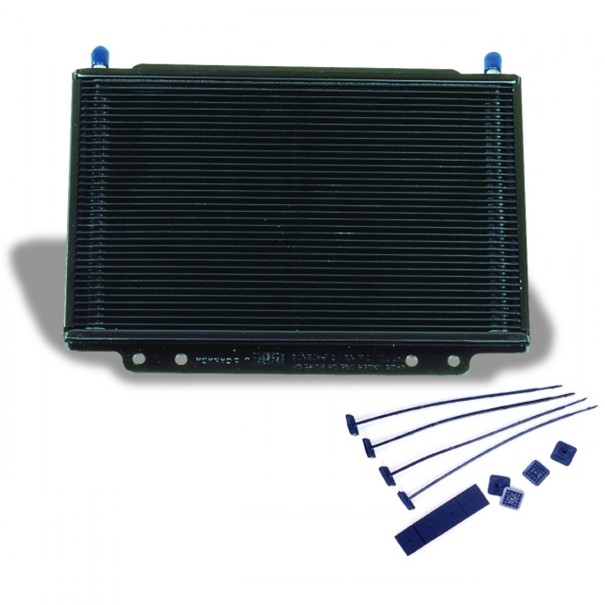 Oil Cooler Supercooler Small Plate Type Black #2B62A0