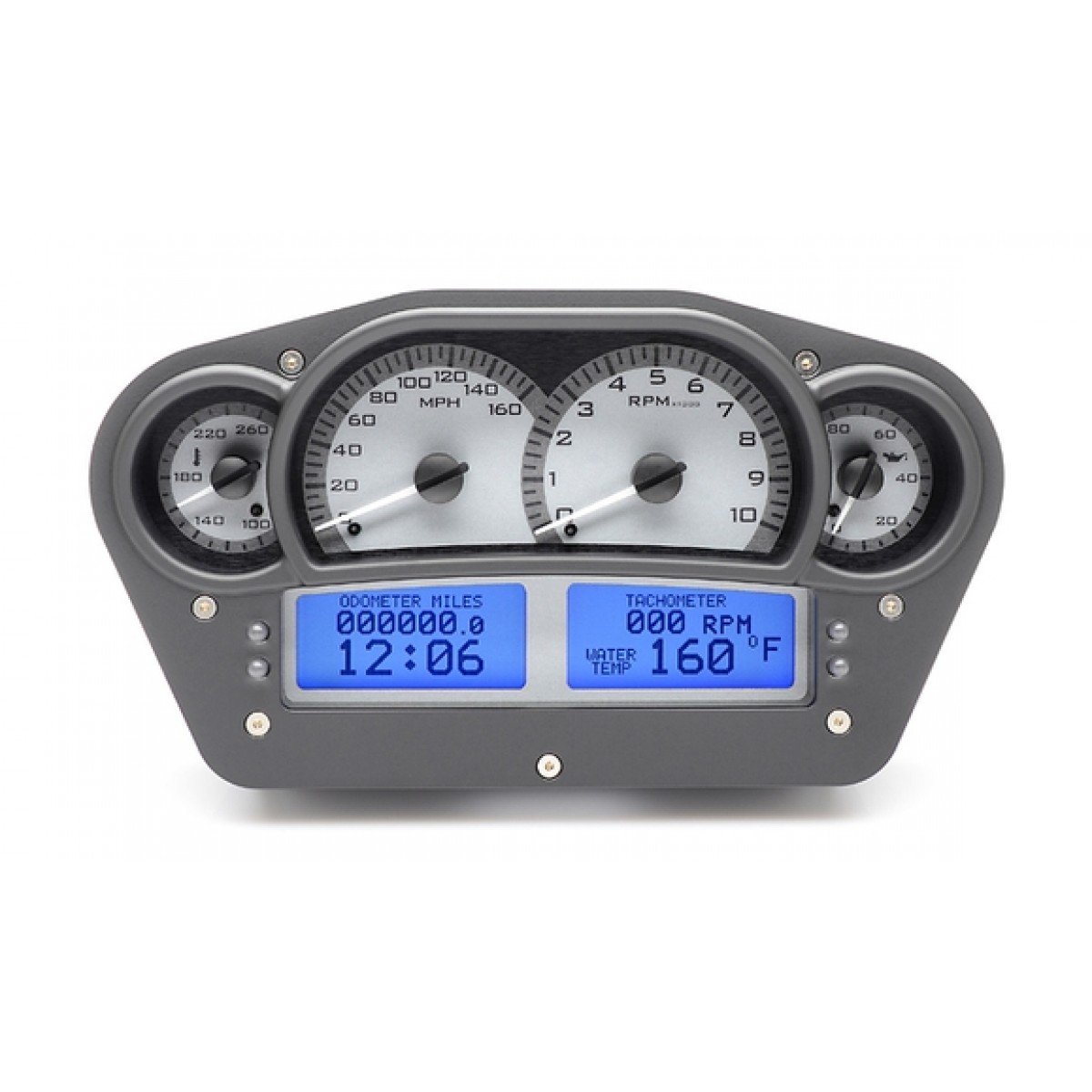 Digital Gauge Cluster : Dakota digital vhx universal instrument cluster