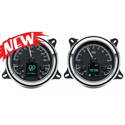1947- 53 Chevy Pickup Truck HDX Gauge Instruments - Dakota Digital