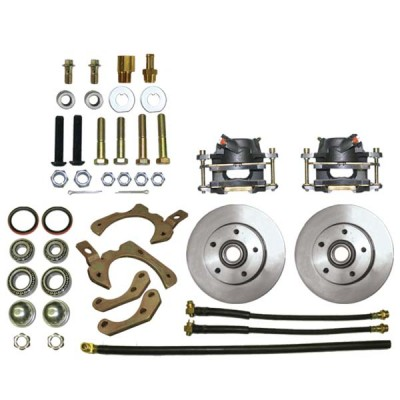 1959-64 Chevy Disc Brake Kit - MBM DBK5964