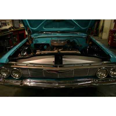 """1961 Impala Anodized Show Panel with """"Bowtie/Chevrolet"""" Engraved"""