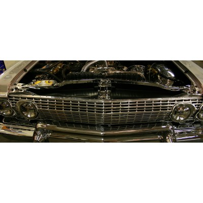 "1963 Impala Anodized Show Panel with ""Bowtie/Chevrolet"" Engraved"