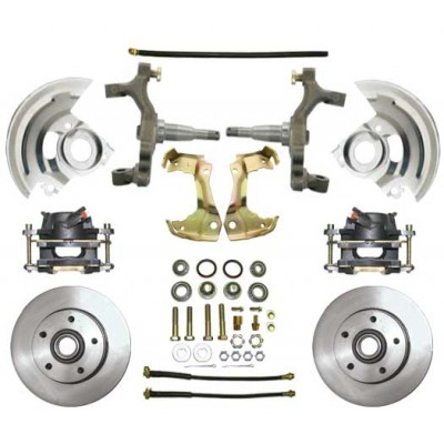 "1964-1972 Oldsmobile Cutlass, 442, F-85 - 2"" Drop Disc Brake Kit - MBM DBK6472D"