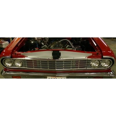 """1964 Chevelle Anodized Show Panel - with """"Malibu"""" Engraved"""