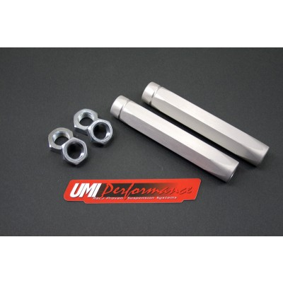1965-1970 Chevy Impala - Heavy Duty Billet Aluminum Tie Rod Adjusting Sleeves - UMI Performance #2102HD