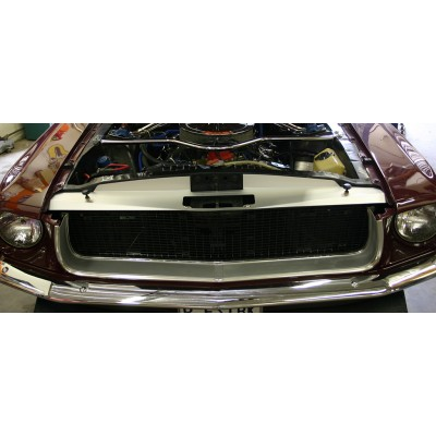 1967-1968 Mustang Radiator Support Show Panel