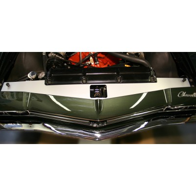 """1968-1969 Chevelle Show Panel with """"Bowtie/Chevrolet"""" Engraved"""