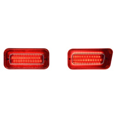 1969 Chevy Impala / Caprice Led Tail Lights - Dakota Digital LAT-NR261