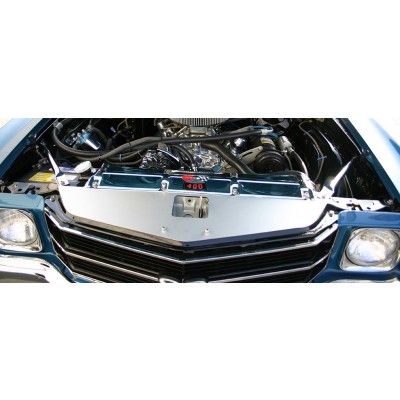 """1970-1972 Chevelle & Monte Carlo Anodized Show Panel with """"Ball-Milled"""" Engraved"""