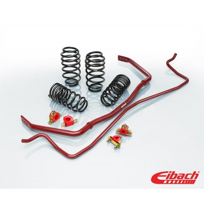 1979-1993 Ford Mustang Coupe - PRO-PLUS (PRO-KIT Lowering Springs & ANTI-ROLL-KIT Sway Bars) - Eibach # 3518.881
