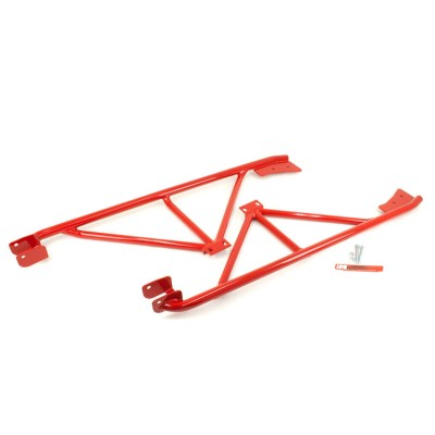 1982-2002 Camaro Convertible - 3-Point Subframe Connector, Weld In - UMI Performance #2043