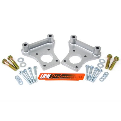1993-2002 Pontiac Firebird (F-Body) - C5 Corvette Brake Conversion Brackets - UMI Performance #2120
