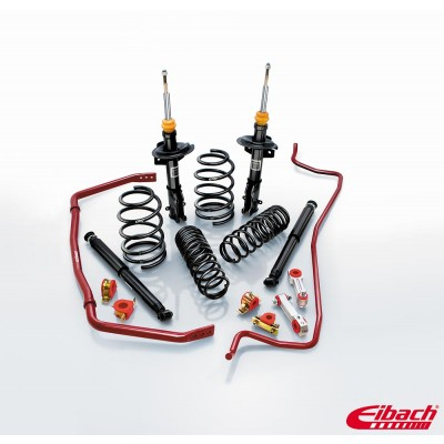 2005-2010 Ford Mustang - PRO-SYSTEM-PLUS (PRO-KIT Lowering Springs, PRO-DAMPER Shocks & ANTI-ROLL-KIT Sway Bars) - Eibach # 35101.680