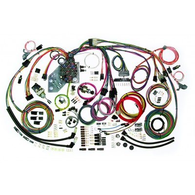 complete wiring harness kit 1947 1955 chevy truck wiring diagram for 1955 chevy bel air