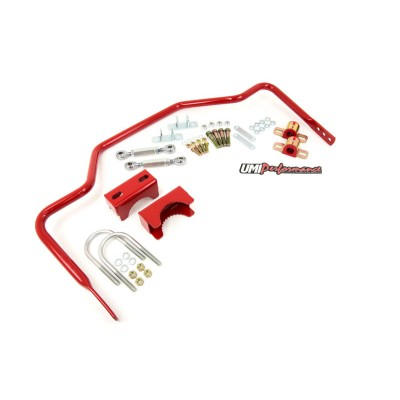 "64-72 Chevy Monte Carlo - 1"" Tubular Rear Sway Bar, Chassis Mounted - UMI Performance # 4047"