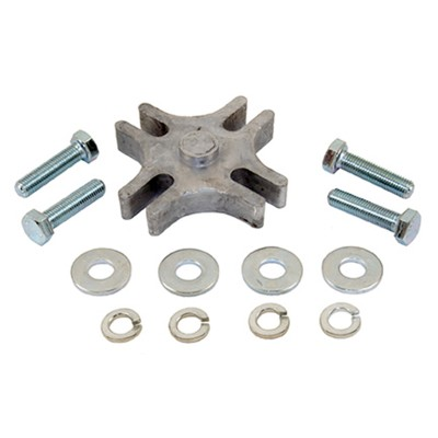 """Fan Spacer Kit (½"""") fine bolts, early Ford/GM"""