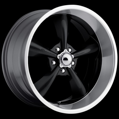 Streeter Black 17x7 - Show Wheels
