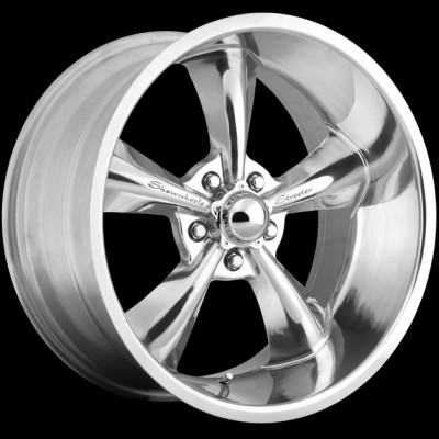 Streeter Polish 17x8 - Show Wheels