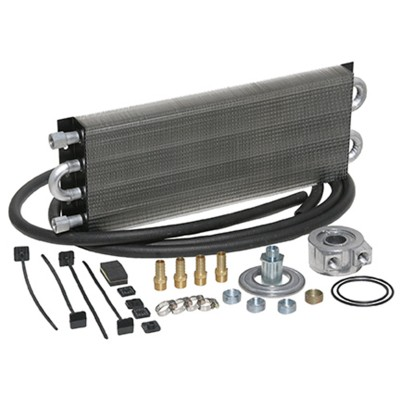 Universal Engine Oil Cooler Kit (Sandwich Style) 500 HP