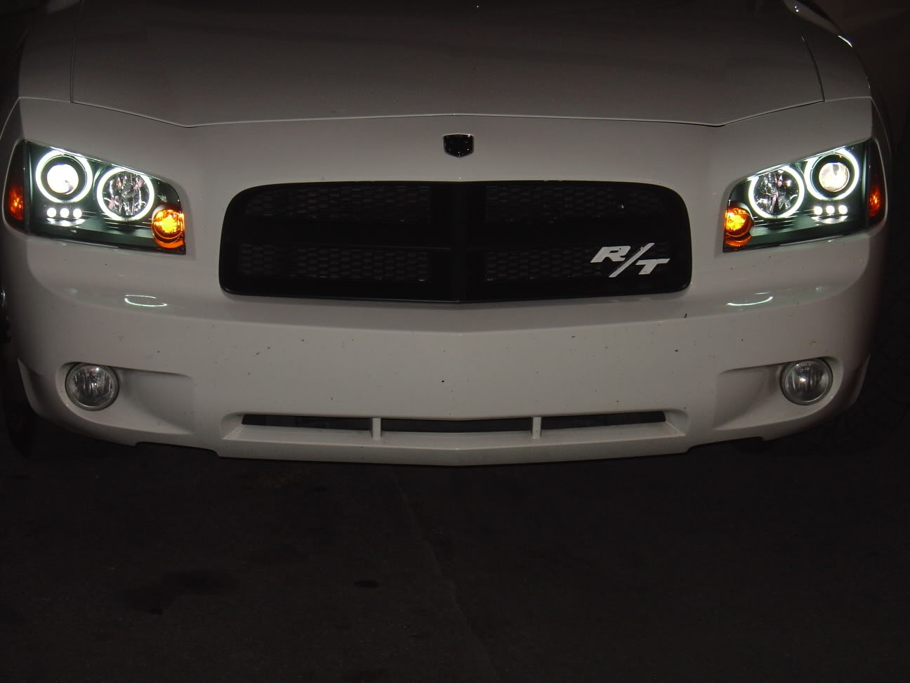 2006 2010 dodge charger projector headlights ccfl halo chrome
