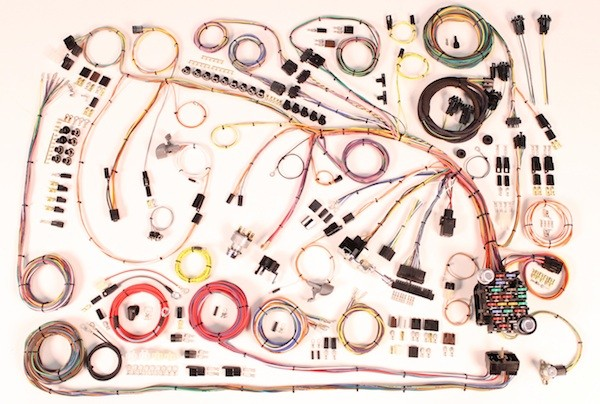 510360 65 impala full wire harness complete wiring harness kit 1965 impala part 510360 1965 impala wiring harness complete wiring harness kit 1965 complete wire harness kits at readyjetset.co
