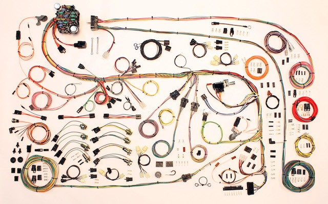 dodge dart wiring diagram complete wiring harness kit dodge dart: 1975 Plymouth Duster Wiring Harness at e-platina.org