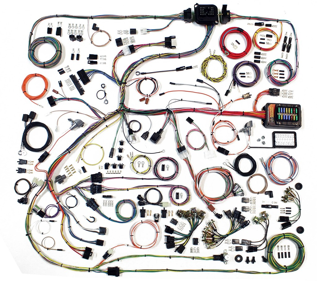 Complete Wiring Harness Kit - 1967-75 Plymouth RoadrunnerCode510
